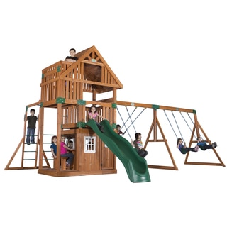 Backyard Discovery Wanderer All Cedar Swingset
