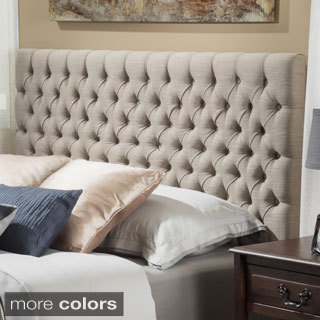Christopher Knight Home Jezebel Adjustable Full/ Queen Button Tufted Headboard
