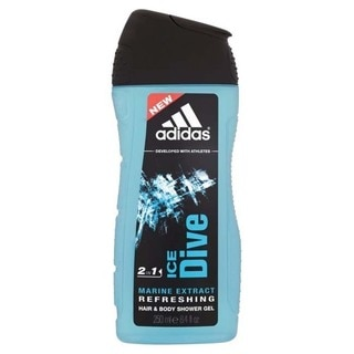 Adidas Men's 'Ice Dive' Marine Extract Refreshing 3-in-1 Shower Gel