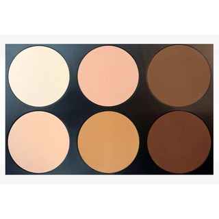 Morphe 6-color Pressed Powder and Contour Palette