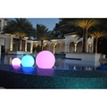 PublicLight Indoor/ Outdoor Cordless Rechargeable LED Illuminated Floating Pool Balls and Floor Lamps