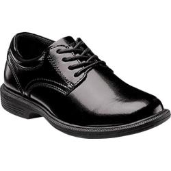 Boys' Nunn Bush Baker St Jr Black Smooth Leather