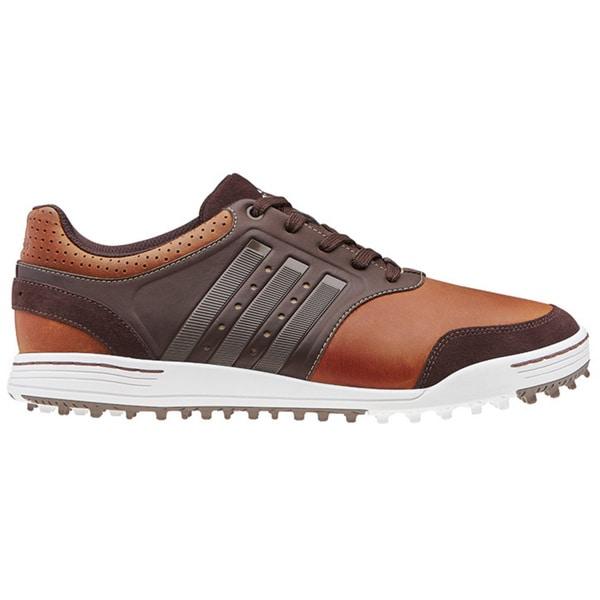 Adidas Mens Adicross III Spikeless Tan/ Brown Golf Shoes by Adidas