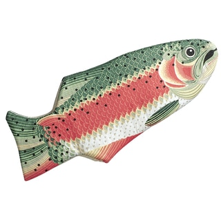 Rainbow Trout Quilted Cotton Oven Mitt