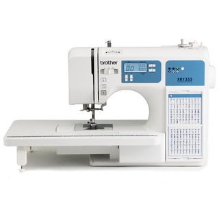 Brother XR1355 185-Stitch Computerized Sewing Machine Factory Serviced