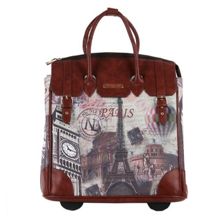 Nicole Lee Paris Rolling Business Special Print Edition Tote