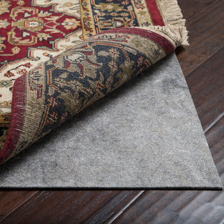 Superior Premium Felted Reversible Dual Surface Non-Slip Rug Pad-(6' Square)