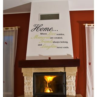 Home Inspirational Vinyl Wall Art