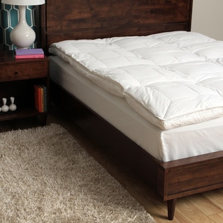 CozyClouds by DownLinens Luxury Down Top Featherbed