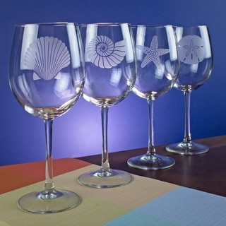 Seashore Collection 19-ounce Wine Glass (Set of 4)