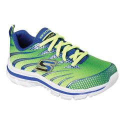 Boys' Skechers Nitrate Training Shoe Lime/Blue