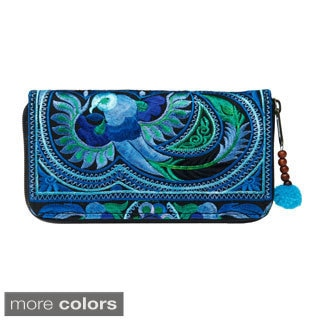 Handcrafted Flower Hmong Wallet (Thailand)