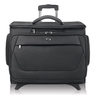 Solo Classic Rolling 15.6-inch Laptop Catalog Case with Tablet Compartment