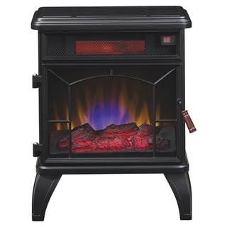 Duraflame DFI-550-0 Mason Freestanding Electric Infrared Heater Fireplace Stove