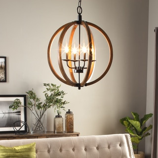 Vineyard Orb 4-light Chandelier