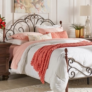 LeAnn Brown Metal Headboard by TRIBECCA HOME