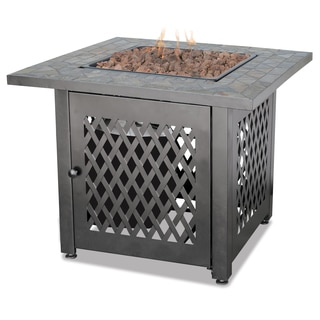 UF LP Gas Slate Outdoor Firebowl