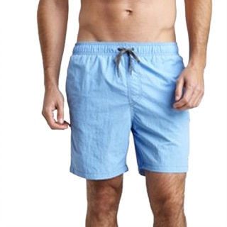 Azul Swimwear Men's 'Pipeline' Light Blue Swim Trunks