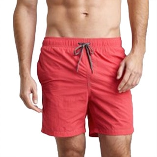 Azul Swimwear Men's 'Pipeline' Red Swim Trunks