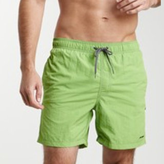 Azul Swimwear Men's 'Pipeline' Lime Green Swim Trunks