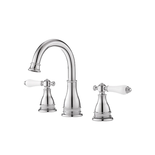 Pfister Sonterra Double-handle Polished Chrome Bathroom Faucet