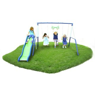 Sportspower Sierra Vista 4-station Metal Swing Set