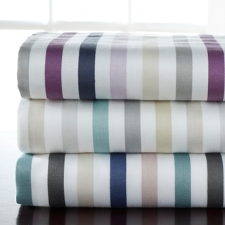 Hyde Park 300 Thread Count 100 Percent Cotton Print Sheet Sets