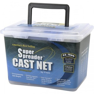 Fitec SS-1000 Super Spreader Cast Net 0.38-inch