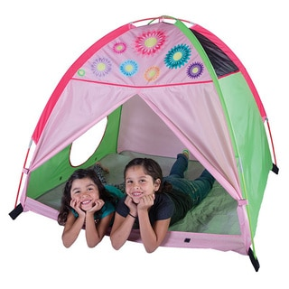 Pacific Play Tents Flower Power Dome Tent 48 Inch x 48 Inch x 42 Inch