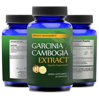Totally Products Garcinia Cambogia 800mg HCA Natural Appetite Suppressant 60 Count