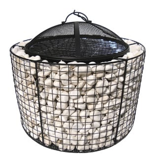 Valley Forge Round Fire Pit/ Grill